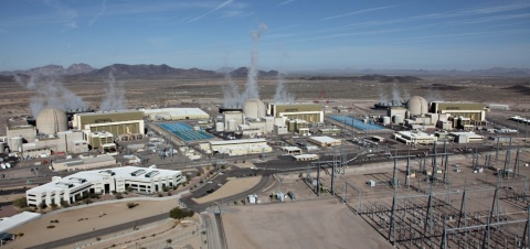 APS is ready to deliver the extraordinary amount of power it takes to keep the lights on and the air conditioners running during Arizona's hot summers. Helping ensure reliability is the nation's largest electricity producer: the Palo Verde Nuclear Generation Station, which produces 80 percent of Arizona's carbon-free electricity. (Photo: Business Wire)