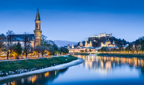 Salzburg, Austria (Photo Credit: Dreamstime)