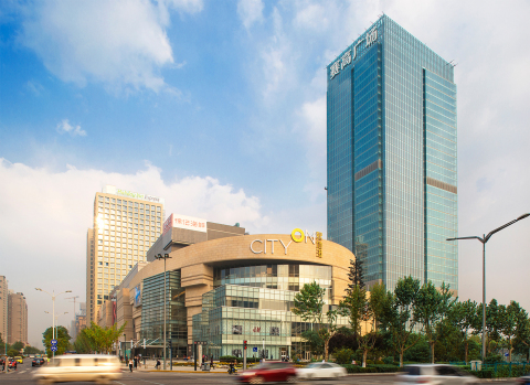 The seven-level, nearly one million square foot CityOn.Xi'an shopping center celebrated its grand op ...