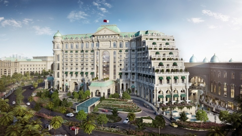 The Luxury Collection hotel in Lusail will open in 2018 (Photo: Business Wire)