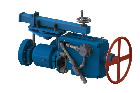 The new Mathena(TM) Electric-Actuated Choke (EAC) from Weir Oil & Gas is the first hydraulic-equivalent electric drilling choke engineered to provide precise flow and pressure control in any type of environment, particularly colder ones.  (Photo: Business Wire)