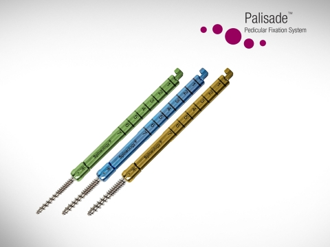 Palisade™ Pedicular Fixation System offers simple insertion and efficiency. (Photo: Business Wire)