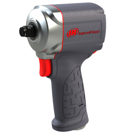 The new Ingersoll Rand Ultra-Compact Impactools(TM) have ergonomic design features and high power-to-weight ratios that allow technicians to insert and loosen fasteners on a variety of equipment and vehicles. The Ingersoll Rand 35MAX Impactool has a half-inch square drive and 450 foot-pounds of maximum reverse torque. The Ingersoll Rand 15QMAX Impactool has a three-eighth inch square drive and 380 foot-pounds of maximum reverse torque, along with premiere quiet technology to reduce the amount of noise the tool creates.  (Photo: Business Wire)