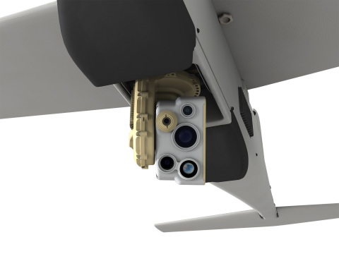 AeroVironment's New Mantis i45 Sensor Suite for Puma AE Delivers Dramatic Leap in Capability for Small UAS (Photo: Business Wire)