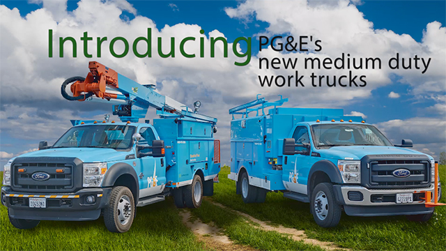 Efficient Drivetrains EDI PowerDrive(TM) technology integrated into leading utility work trucks to electrify fleets