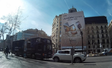 The ZTE tour starts its journey to five countries from Barcelona in February 2016, during Mobile Wor ...