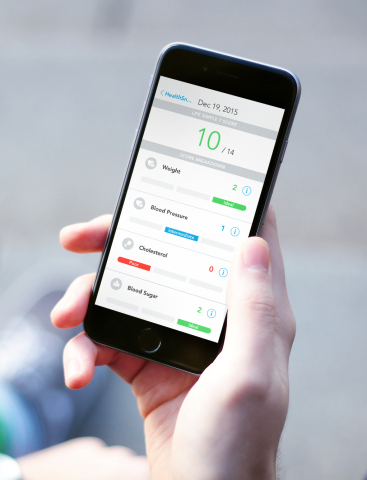 A Life's Simple 7® score--a snapshot of an individual's heart health--can be obtained in just minutes using HealthFluence. (Photo: Business Wire)