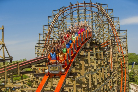 Six Flags Dubai will be the first dedicated thrill park in the GCC and will boast rides similar to the Guinness World Record holder, award-winning, wooden roller coaster - Goliath at Six Flags Great America near Chicago, Illinois. (Photo: Business Wire)