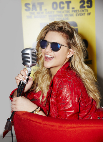 Macy's American Icons campaign features country pop star, Kelsea Ballerini, in fashion-forward looks from Maison Jules, Ray-Ban and more; visit macys.com/americanicons (Photo: Business Wire)