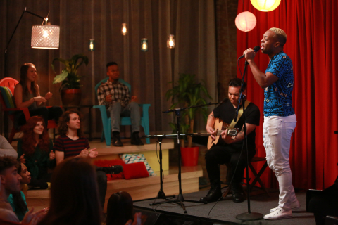 YouTube stars, Todrick Hall and AJ Rafael, perform at YouTube Studios in NYC for Macy's Summer Vibes digital music festival, which airs on June 2 on youtube.com/macys; to learn more about the festival, visit macys.com/americanicons (Photo: Business Wire)
