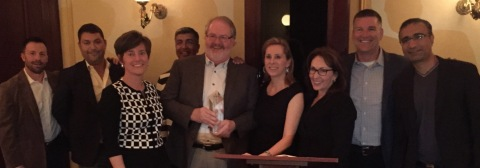 ECD Executives and Flatirons Celebrate Successful Marketing Partnership (Photo: Business Wire)