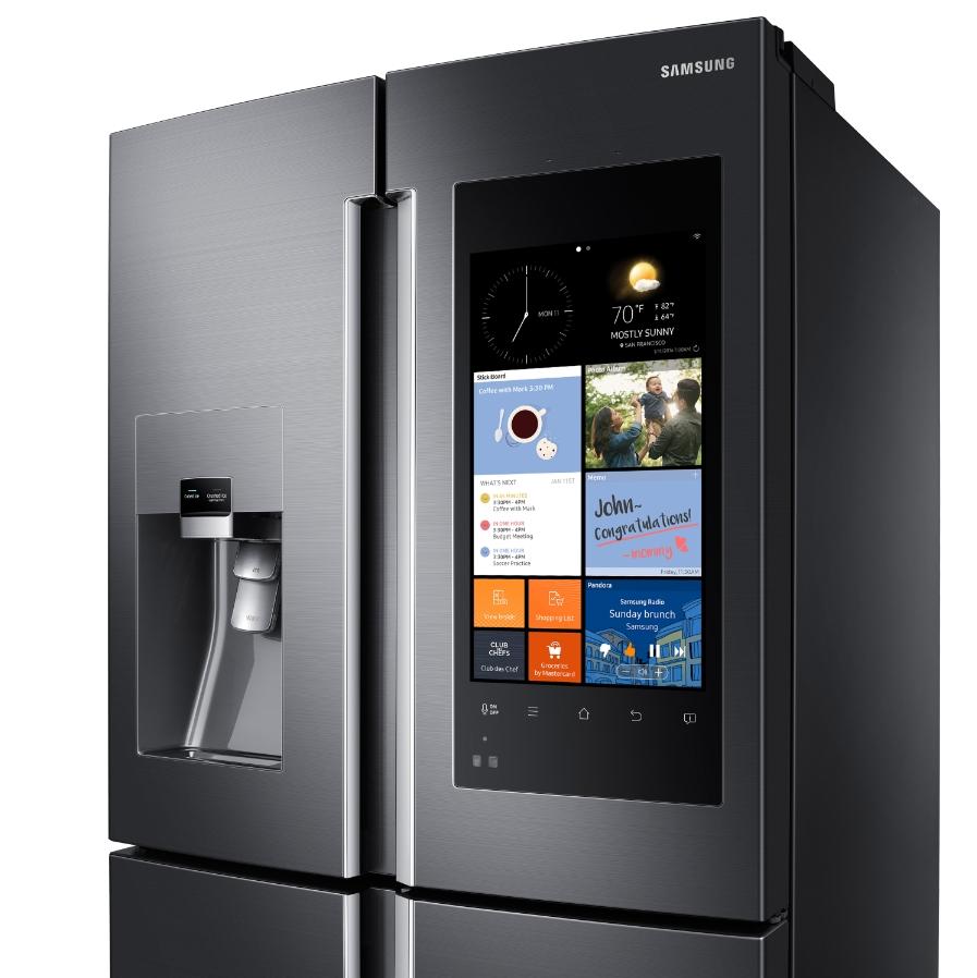 samsung reinvents the refrigerator business wire. Black Bedroom Furniture Sets. Home Design Ideas