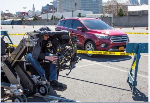 """The new 2017 Ford Escape is the focus of unique integrations with producers of hit NBC shows """"The Blacklist"""" and """"Blindspot."""" (Photo: Business Wire)"""