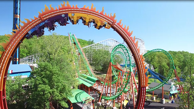 Fireball Is Bringing The Heat To Six Flags St. Louis ...