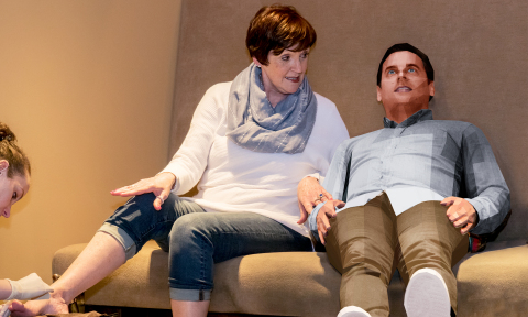 With a 3D You, Mom will be able to take you along for all of her favorite activities and experiences such as getting a pedicure, going to lunch or attending a Broadway musical. (Photo: Business Wire)