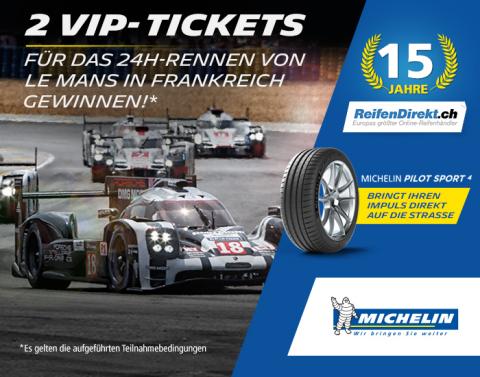 Jetzt mitmachen und drei unvergessliche Tage mit vielen Specials beim hochklassigen 24-Stunden-Rennen von Le Mans in Frankreich erleben (Foto: Business Wire)
