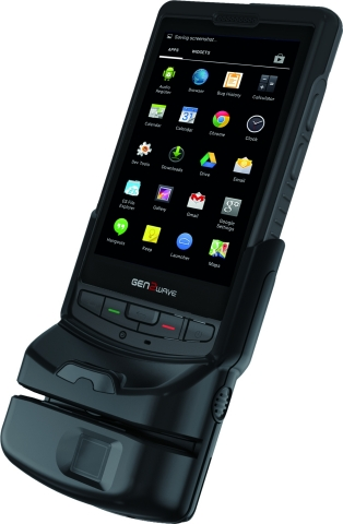 Access-IS miniature OCR/MRZ reader delivers enhanced features for Gen2Wave smart phone (Photo: Busin ...
