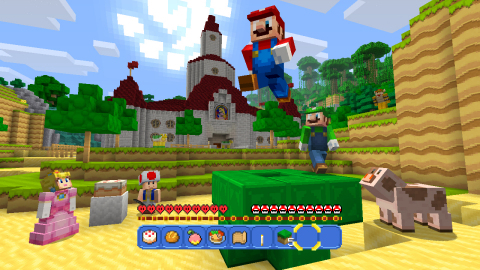 Builders of all ages will love crafting massive new worlds using building blocks inspired by a series as accessible and recognizable as Super Mario. (Graphic: Business Wire)