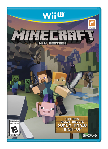 On May 17, the Super Mario Mash-Up Pack comes to Minecraft: Wii U Edition as a free game update. (Photo: Business Wire)