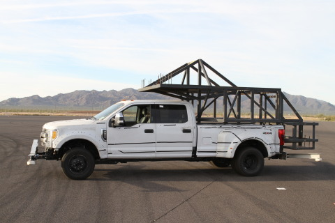 Ford engineers put the all-new Super Duty through its paces at Arizona Proving Grounds, subjecting t ...
