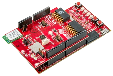 Avnet's LSR Wireless Shield, an Arduino form-factor expansion board for prototyping wireless connected IoT products with customizable sensor/peripheral capabilities. (Photo: Business Wire)