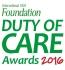 International SOS Foundation Announces Shortlist for 2016 Duty of Care Awards