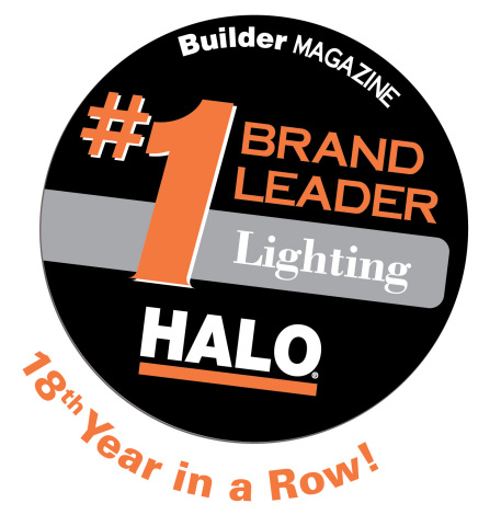 BUILDER magazine's 2016 BUILDER Brand Use Study named Eaton's Halo® product line the brand leader in ...
