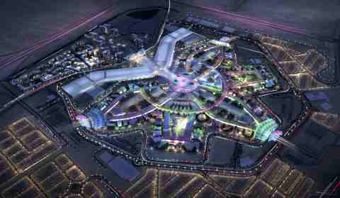 Expo 2020 Dubai Master Plan (Photo: ME NewsWire)