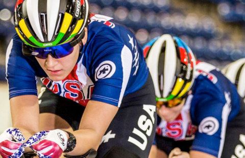 USA Cycling: Chloe Dygert 2016 World Champion and Olympic Team Member Solos, High Performance Smart Eyewear for Cyclists (Photo: Philip Beckman)