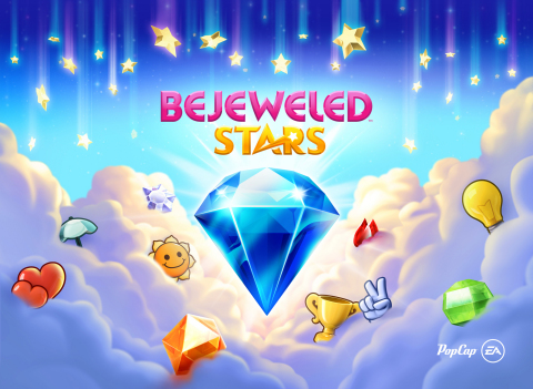 PopCap Games Celebrates the All-New Bejeweled Stars, Available Now on Mobile Devices (Photo: Busines ...