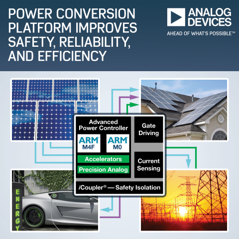 Analog Devices' Power Conversion Platform Improves Safety, Reliability and Efficiency in Renewable E ...