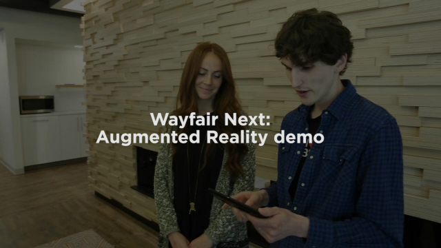 Wayfair's R&D Team, Wayfair Next, shows off the new way to shop for home using Google's Project Tango.