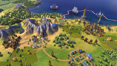 Sid Meier's Civilization VI will offer players new ways to interact with their world, expand their empire across the map, advance their culture, and compete against history's greatest leaders to build a civilization to stand the test of time. (Graphic: Business Wire)