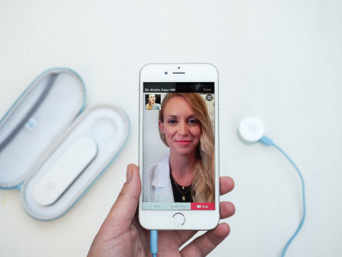 Doctor On Demand, CliniCloud partner to bring tools of the doctor's office to the comfort of patients' homes. (Photo: Business Wire)