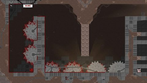 Super Meat Boy is a tough-as-nails platformer set in haunted hospitals, salt factories and even hell itself in a quest to save your girlfriend from an evil fetus in a jar. (Graphic: Business Wire)