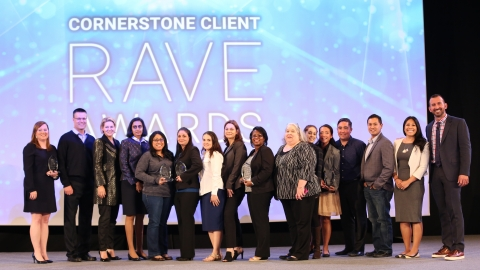 Winners of Cornerstone's 2016 Client RAVE Awards (Remarkable Achievements and Visionary Elites) were ...