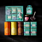 A curated collection of more than 35 items, including Fortnum & Mason's signature artisanal teas, preserves, biscuits and hampers, is now available at 100 Williams-Sonoma retail locations and at williams-sonoma.com. (Photo: Business Wire)
