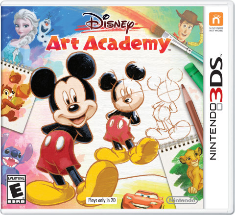 Disney Art Academy launches exclusively for the Nintendo 3DS family of systems on May 13 (Photo: Bus ...
