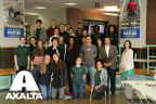 Axalta's Lisa Miree-Luke, pictured center of second row, joined by Youth Leadership Academy students and other guest speakers. (Photo: Axalta)