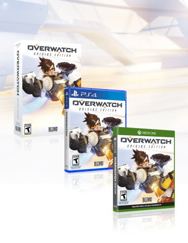 Overwatch: Origins Edition (Xbox One, PS4, Windows PC) (Graphic: Business Wire)