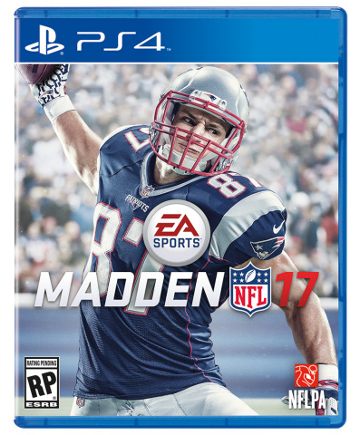 Rob Gronkowski Named as Official EA SPORTS Madden NFL 17 Cover Athlete. (Photo: Business Wire)