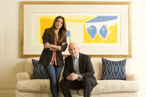 Eva Longoria and Bobby Turner (Photo: Turner Impact Capital)