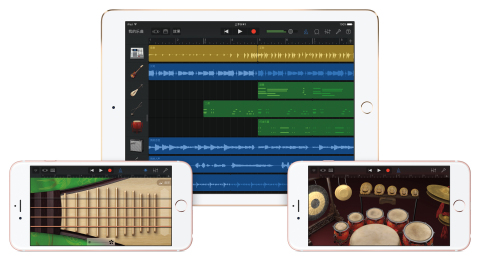 Apple Celebrates Chinese Music with GarageBand Update (Photo: Business Wire)