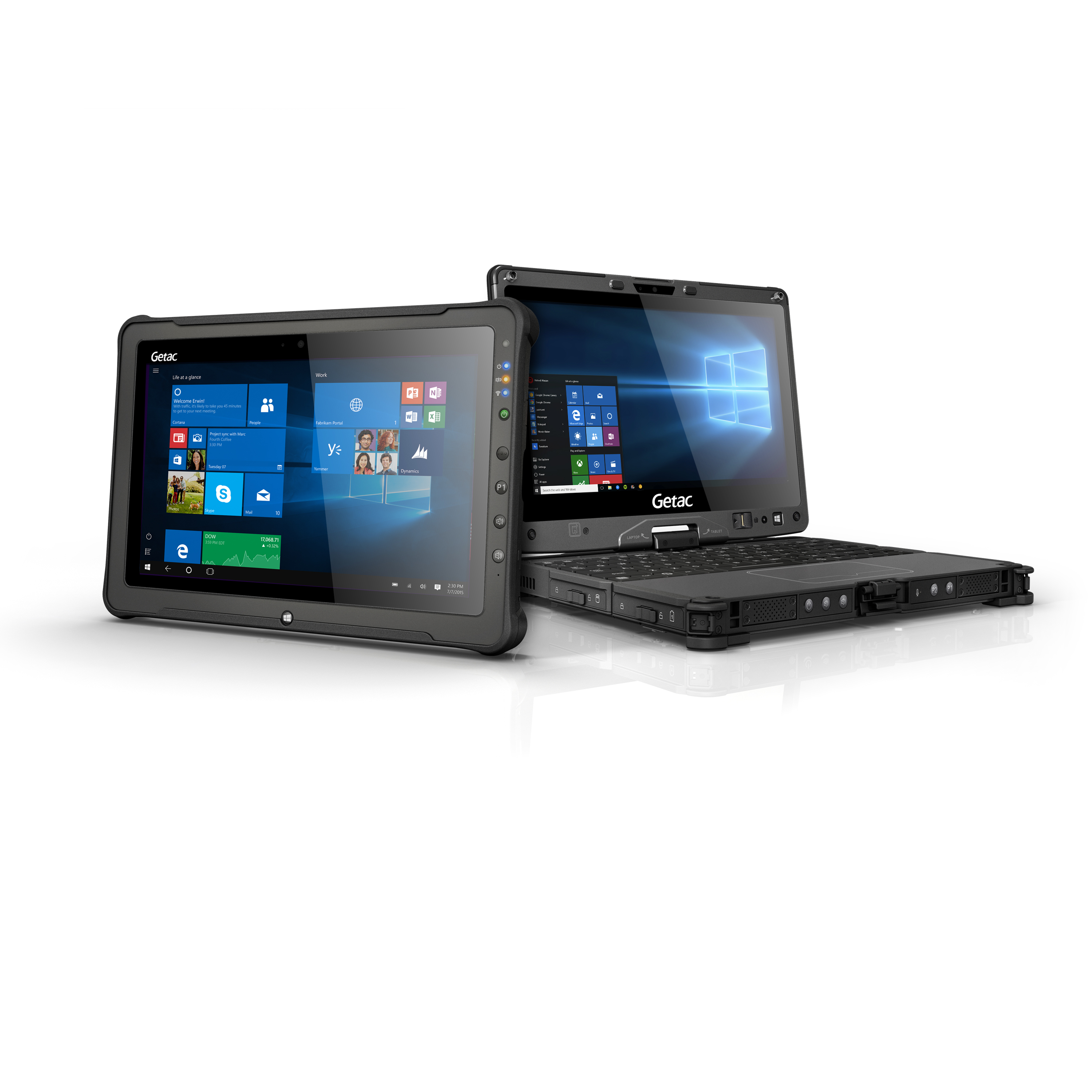 Getac S Next Gen F110 Fully Rugged Tablet And V110 Convertible Offer Maximum Performance Multi Layer Security All Within A Light