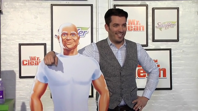 Jonathan Scott Joins Swiffer and Mr. Clean to Celebrate Movers and the Clean Slate that Comes with a New Home