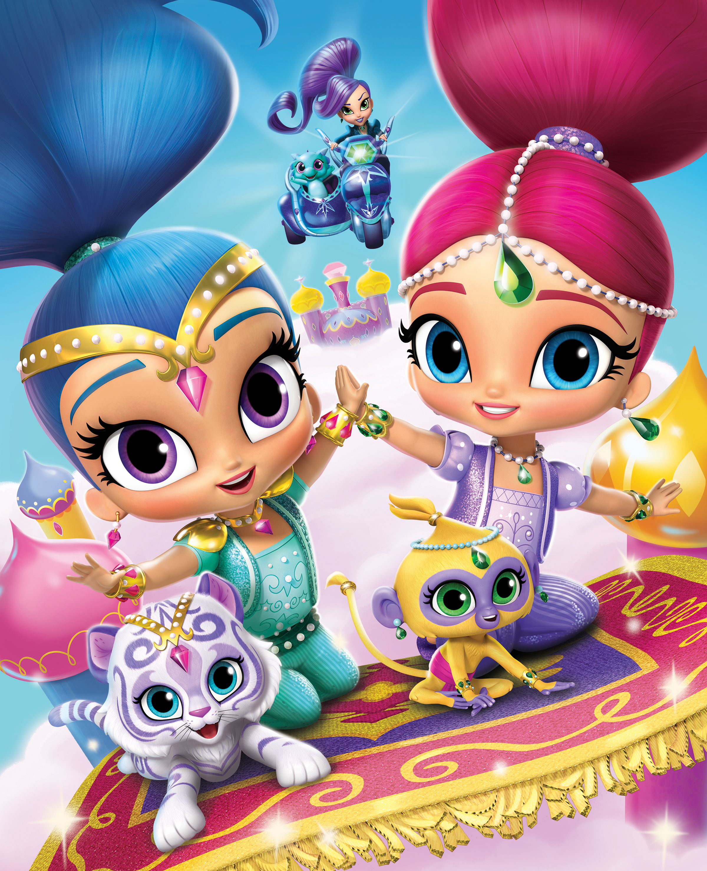 Nickelodeon Grants Preschoolers Wishes With Brand New Shimmer And
