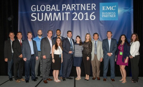 Avnet receives the 2015 EMC Distributor Partner of the Year Award for North America from EMC Corpor ...