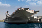 The Intrepid Sea, Air & Space Museum, centered on the aircraft carrier Intrepid, is delivering Aruba Wi-Fi for One Million Visitors Annually. (Photo: Business Wire)
