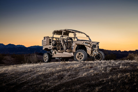 Polaris Defense, a division of Polaris Industries Inc., today announced the addition of a high-performance MRZR turbo diesel (MRZR-D) to its MRZR off-road vehicle lineup. (Photo: Polaris)