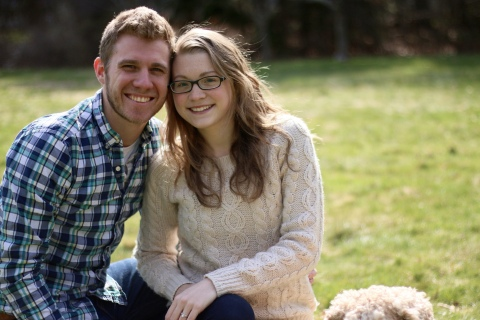 """Peter and Mary Frey of The Frey Life. Mary was diagnosed with CF at 7 weeks old. She and her husband, Peter, manage her CF as a team. Through their """"vlog,"""" or video blog, they """"aim to show the ups and downs of everyday life with a chronic illness and encourage and inspire others."""" (Photo: Business Wire)"""